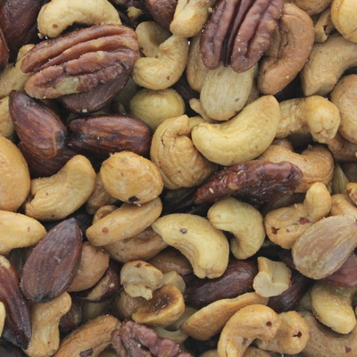 Gemengde noten zout bucket 3 kg