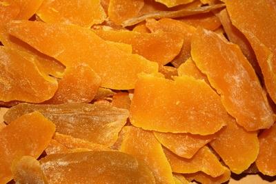 Mangoschijfjes oranje bak 3 kg  Emmer