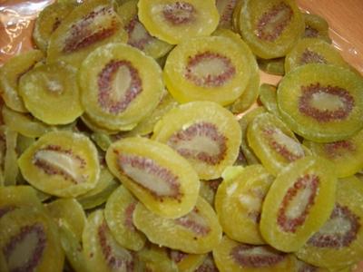 Kiwi schijfjes gedroogd bak 3 kg  Emmer