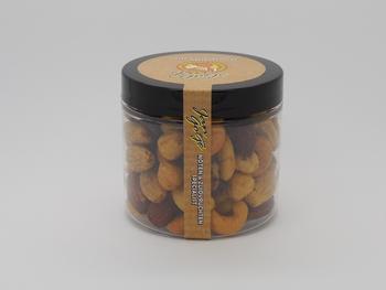 Gemengde Noten zout 6 x 120 gram  Jars